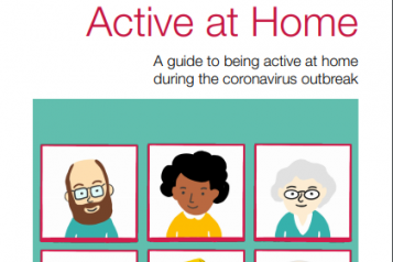 picture of active at home booklet for older adults